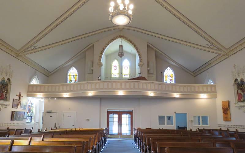 St. John Nepomucene Catholic Church - Pilsen, Kansas