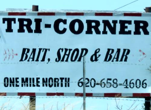 Tri-Corner Restaurant and Bait - Fall River, Kansas