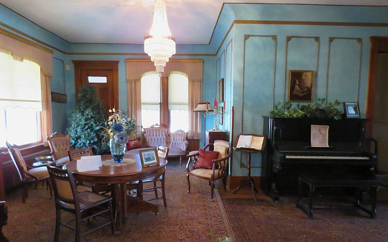 Music Room at the Warkentin House