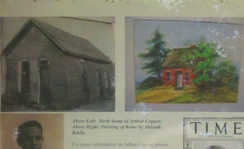 Arthur Capper's birth home images
