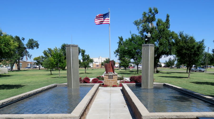 Liberty Garden 911 Memorial - Dodge City, Kansas