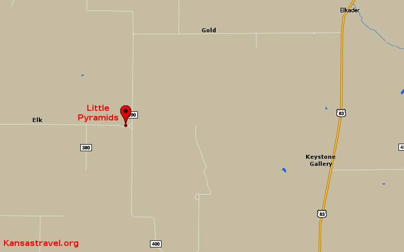 Little Pyramids of western Kansas on road map of kansas, antique map of kansas, large map of kansas, physical map of kansas, radon map of kansas, blank map of kansas,