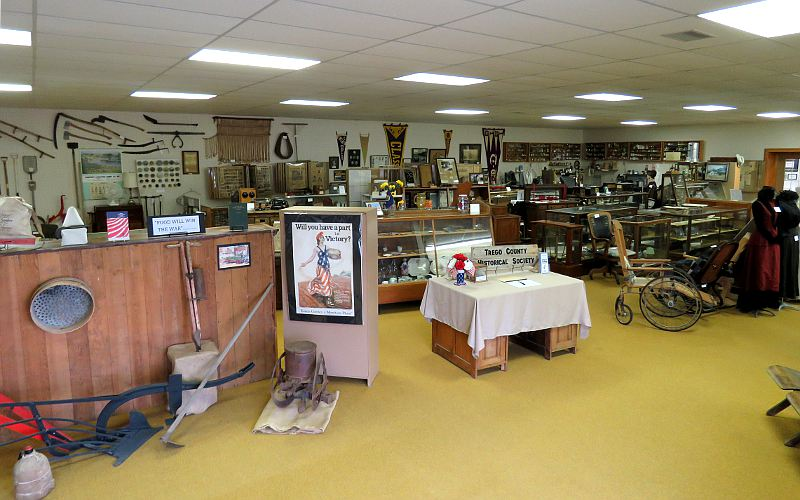 Trego County Historical Museum - WaKeeney, Kansas