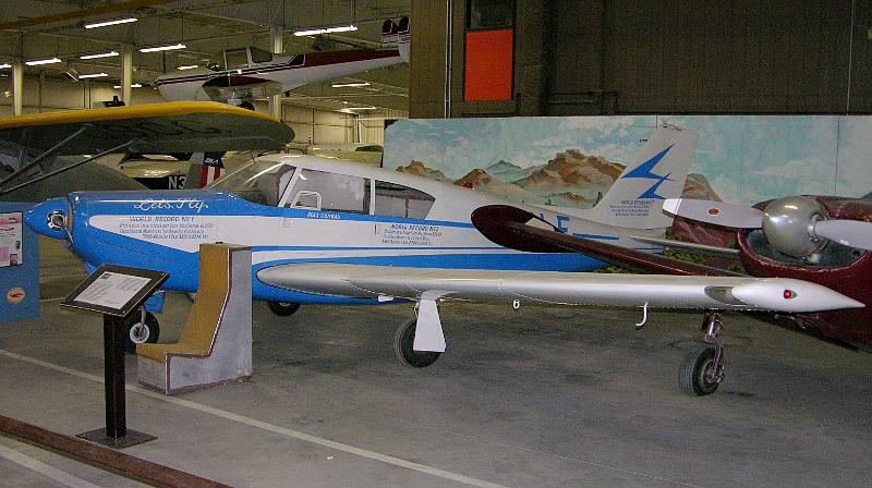 Max Conrad's Piper Comanche at Mid-America Air Museum