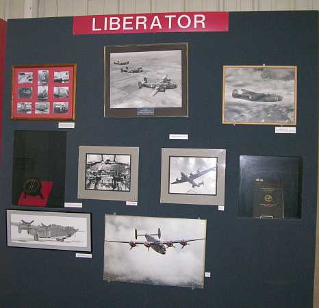 B-24 Liberator airforce base in Liberal Kansas
