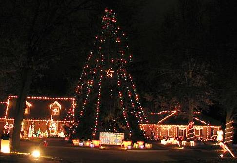 46850816407 Johnson County Christmas Displays (metro Kansas City)