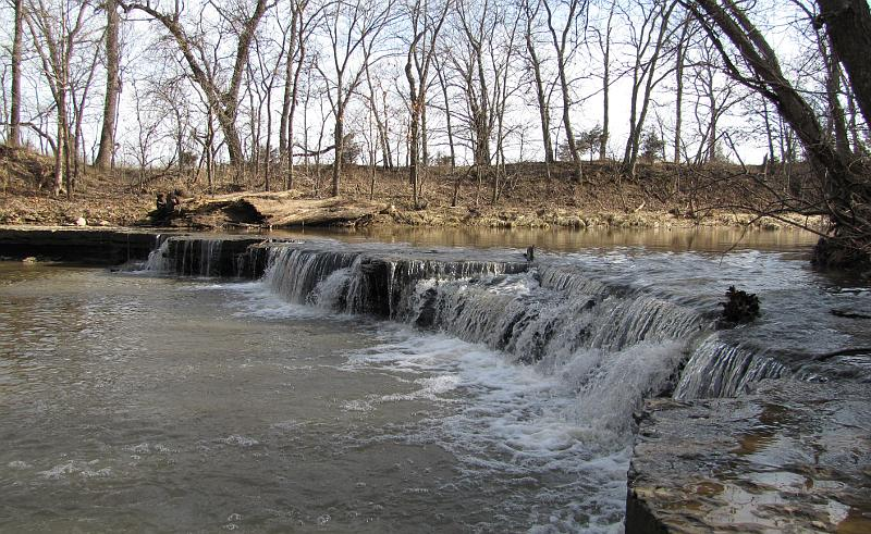 Captain Creek Waterfall - Eudora, Kansas