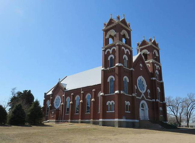St. Joseph Catholic Church - St, Joseph, Kansas