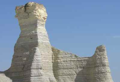 Chalk Pyramids - Monument Rocks