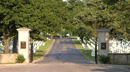 Fort Scott National Cemetery - Fort Scott Kansas