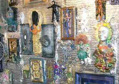 Folk art in the Garden of Isis