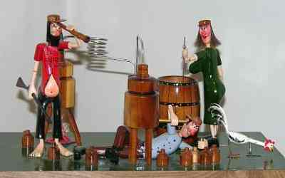Grassroots art at the Boyer Gallery