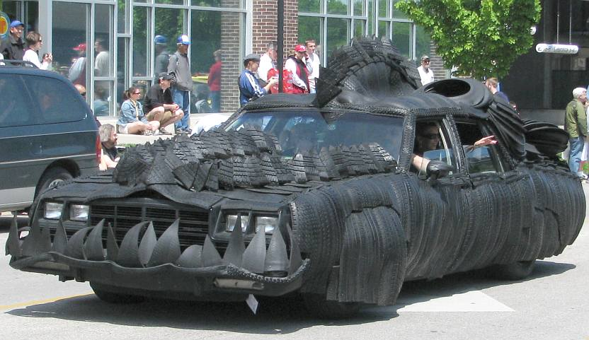 Car Dealerships Omaha >> Art Tougeau - Wheeled Art Parade in Lawrence, Kansas