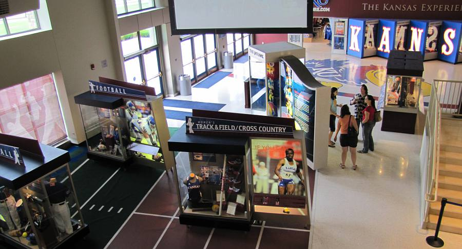 Booth Family Hall Of Athletics University Of Kansas