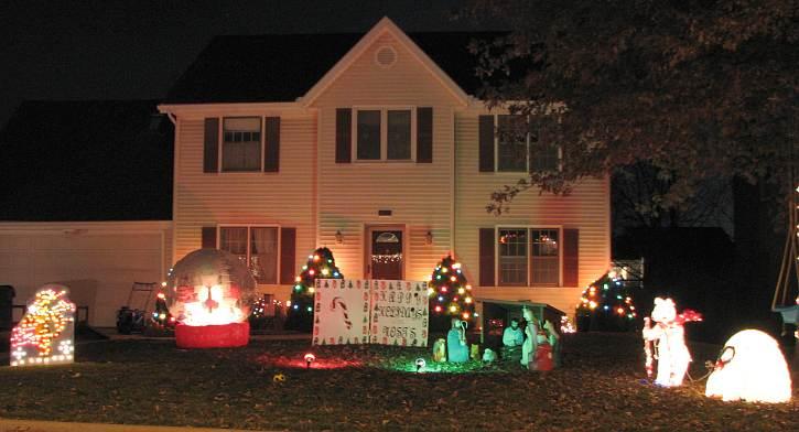 Christmas Card Lane - Olathe, Kansas