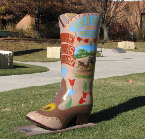 Welcome Home Cowboy Boots Olathe Kansas