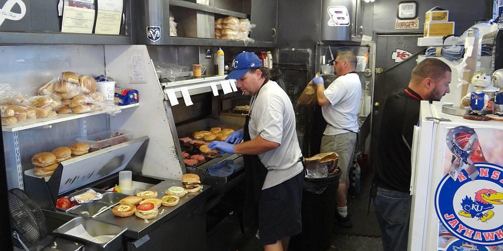 Grandstand Burgers Overland Park Kansas