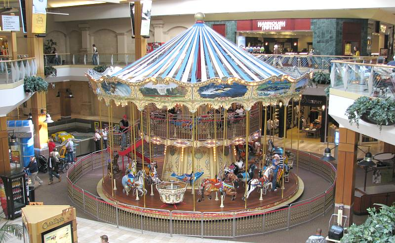 double decker carosel - Oak Park Mall