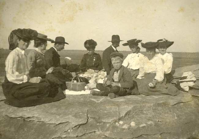 Rock City picnic in 1900