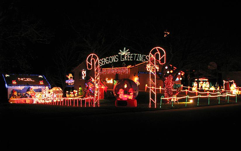 croco road christmas light display topeka kansas - Mm Christmas Lights