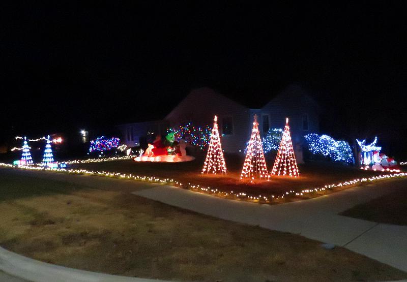 Christmas Flood Light