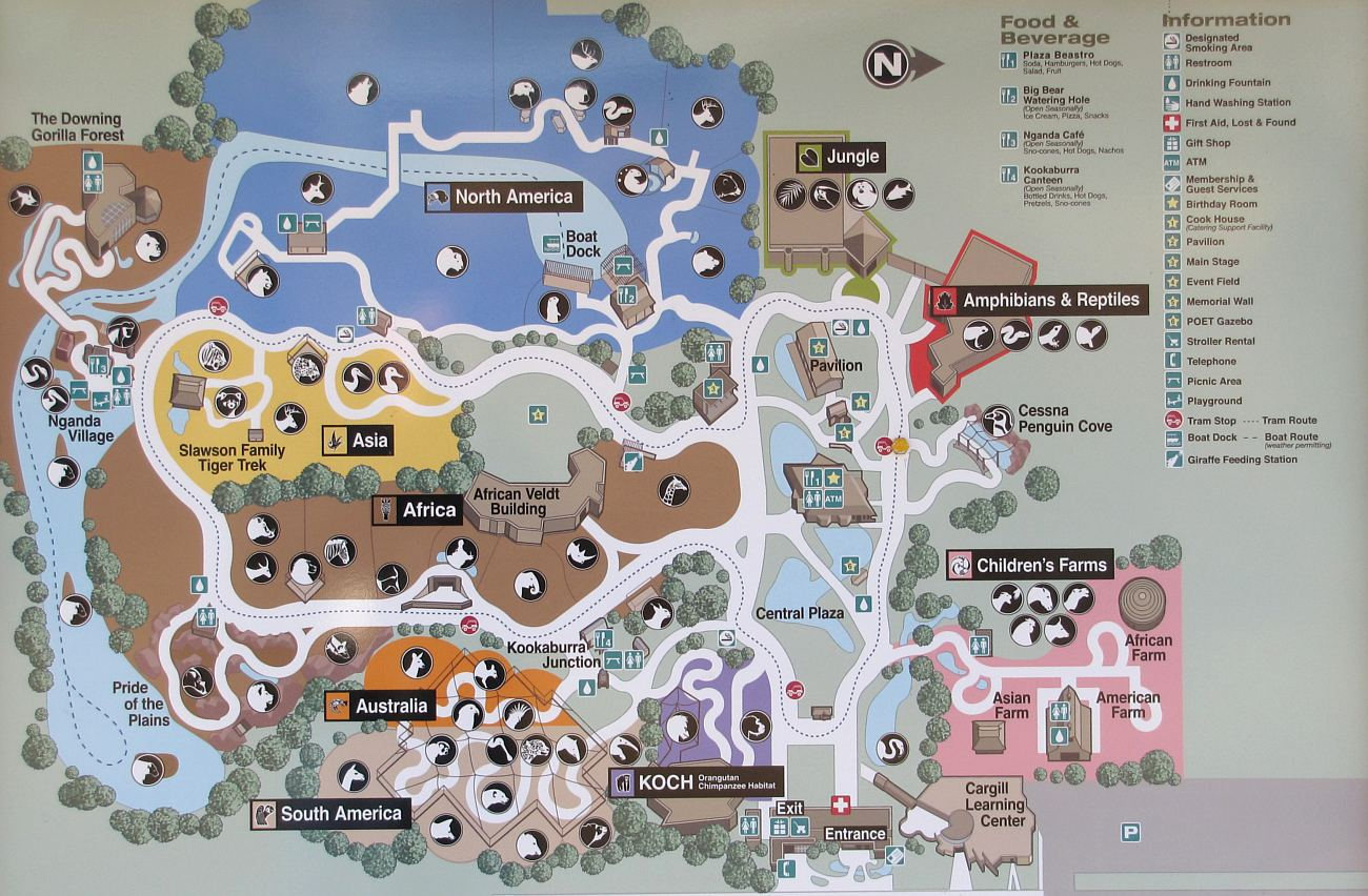 Sedgwick County Zoo Rainforest